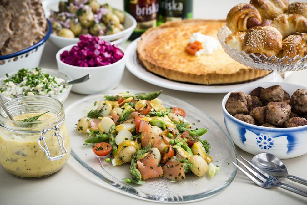 Ballard NW Senior Center Scandinavian Food