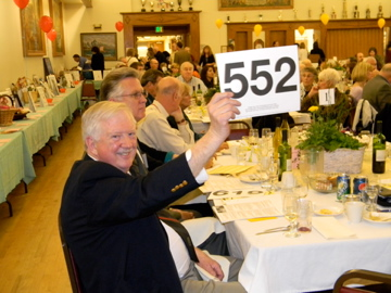 spring for seniors auction dinner